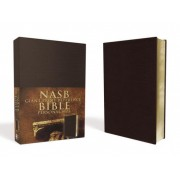 Giant Print Reference Bible-NASB-Personal Size
