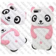 Аpple iPhone 7 Plus (силиконов калъф) 'Panda'