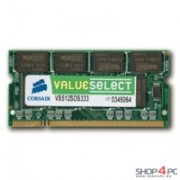 Memorie Corsair SO-DIMM ValueSelect 512MB DDR, 400MHz, PC 3200, CL 3, VS512SDS400