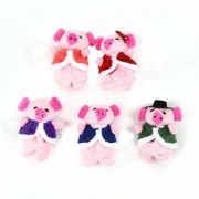 Pum?n dedo lindo Doll Story Cinco Lechones Toy Set - Multicolor