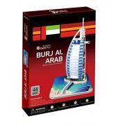 CUBIC FUN C065h - 3D Puzzle Burj Al-Arab - Dubai- Emirati Arabi - UEA