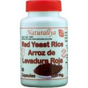 Red Yeast Rice - Arroz de Levadura Roja 60 Capsulas