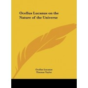 Ocellus Lucanus on the Nature of the Universe (1831) by Ocellus Lucanus