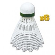 AIR TEC- Míčky na badminton 6ks nylonové Spokey