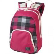 OŽNeill AC Wedge Backpack - Mochila, color rosa con cuadros blancos y negros