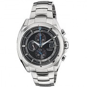Citizen Silver Metal Round Dial Quartz Watch For Men (CA0551-50E)