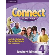 Connect Level 4 Teacher's Edition: Level 4 by Jack C. Richards