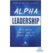 Alpha leadership - Anne Deering Robert Dilts