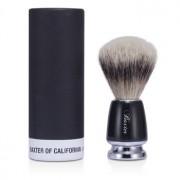 Baxter Badger Hair Shave Brush - Silver Tip (Black) 1pc Бакстер Четка за Бръснене от Естествен Косъм на Язовец - Сребърен Тип ( Черна )