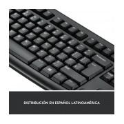 Kit de Teclado y Mouse Logitech MK270, Inalámbrico, USB, Negro