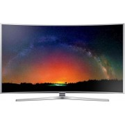 "Televizor LED Samsung 122 cm (48"") 48JS9000, Ultra HD, Ecran Curbat, 3D, Smart TV, PQI 2000, DTS Premium Sound 5.1, CI+ + Lantisor placat cu aur si argint + Cartela SIM Orange PrePay, 6 euro credit, 4 GB internet 4G, 2,000 minute nationale si internationa"