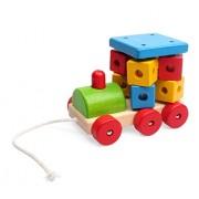 Pino 14,5 × 9,5 × 11 cm, locomotiva Big Pull Along Toy (Multi-colore)