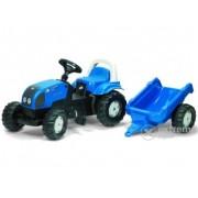 Tractor cu pedale Rolly Kid Landini cu remorcă