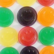 Vidal Happy Faces Fruity Gummy Novelty Party Sweets