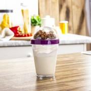 Orion Pojemnik na jogurt i owoce plastikowy TWO GO MIX 0,3 l - rabat 10 zł na pierwsze zakupy!