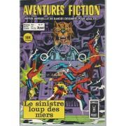 """"""" Le Sinistre Loup Des Mers """" (Les Challengers De L'inconnu + Les Métalliens / The Metal Men + Le Limier Martien / Martian Manhunter + Wonder Woman + ...) : Aventures Fiction N° 37 ( Septembre 1974 )"""