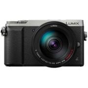 Aparat Foto Mirrorless Panasonic DMC-GX80H, cu Obiectiv 14-140mm POWER O.I.S., Filmare Ultra HD 4K, 16 MP, Wi-Fi (Negru/Argintiu)