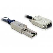 Delock Cable SAS 26pin to Infiniband (SFF 8088 - SFF8470) 1m 83062