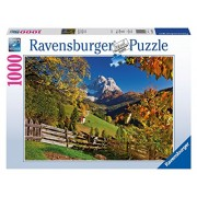 Ravensburger 19423 - Puzzle 1000 Pezzi, Montagna, Cartone