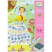Djeco DJ08783 Stamp Sets- Flower Maidens Playset