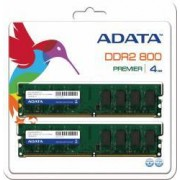 Memorie ADATA 4GB 2x2GB DDR2 800MHz CL5