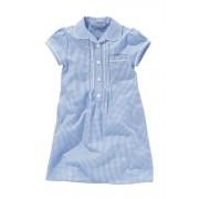 Next Lace Gingham Dress (3-14yrs) - Blue