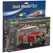 Revell - Maqueta modelo set Mini Cooper Rallye Monte Carlo, escala 1:24 (67064)