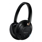 Philips SHB7250/00 Wireless Bluetooth Headphones (Black)