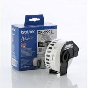 BROTHER DK Tape 50mm Black on White, 30m lenght (DK22223)
