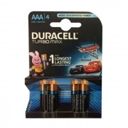 Baterie Duracell Turbo Max AAA LR03 4buc Cars