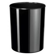 Cos de birou pentru hartii, 13 litri, HAN iLine - negru lucios