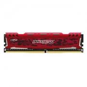 Mémoire RAM Ballistix Sport 16 Go (4 x 4 Go) DDR4 2400 MHz CL16 - Rouge PC4-19200 - BLS4C4G4D240FSE