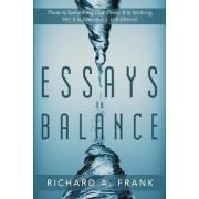 Essays on Balance by Richard A Frank
