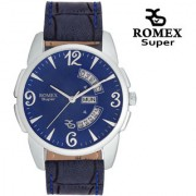 Romex Super Day N Date Analog White Dial Mens Watch- Dd-Stn20Wh