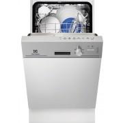 Masina de spalat vase Electrolux ESI4200LOX, Partial Incorporabil, 9 Seturi, Clasa A, Latime 45 Cm, 5 Programe, 3 Temperaturi, Panou Comanda Inox