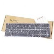 Eathtek New Laptop Keyboard with Grey Frame for IBM Lenovo Z570 Z575 B570 B570A B570G B570A B575 V570 B580 B580A B585 V5