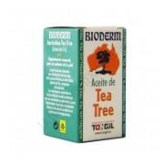 Aceite de Tea Tree Bioderm Tongil 15 ml.