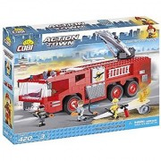COBI Action Town Airport Fire Truck Building Kit