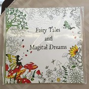 'Fairy Tails and Magical Dreams' Adult Coloring Book-24pages/48sides of magical art to relief your stress and take your mind to places you only dream of.