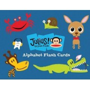 Julius and Friends Alphabet Flash Cards by Paul Frank Industries