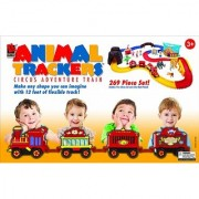 Life-Like Trains Battery Operated Animal Trackers Circus Train Set