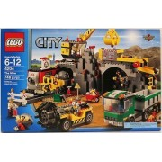 LEGO 4204 City The Mine mine, drill, truck and crane by Lgp