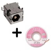 Connector 2,5 mm DC Power Jack per Asus X53 X53S X53Se X53E intrecciato Pinza dissaldante a
