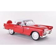Ford Thunderbird, rojo/blanco, 1956, Modelo de Auto, modello completo, Motormax 1:24