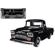 Showcasts 1958 Chevy Apache Fleetside Pickup Truck 1/24 Scale Diecast Model Car Light Blue