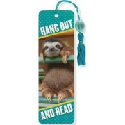 Baby Sloth Beaded Bookmark by Peter Pauper Press Inc