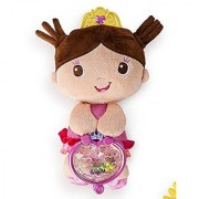 Bright Starts Toy Assortment Little Plush Princess -Beige Pink dress