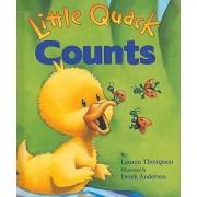Little Quack Counts by Lauren Thompson
