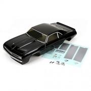 Vaterra Vtr230015 1969 Chevrolet Camaro Ss Body Set, Black: 1/10 V100