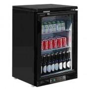 Botellero frigorífico de bar color negro para 104 botellas Polar CB929